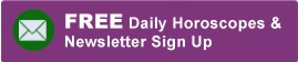 Signup For Our Daily Horoscopes & Newsletter